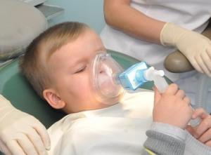 лечение детей под наркозом