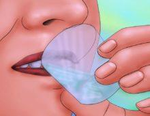 полоскание рта перекисью и содой