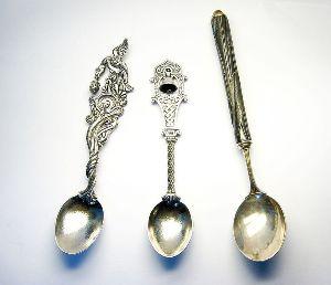виды серебряных ложек