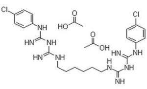 формула хлоргексидина
