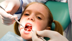 санация зубов у детей