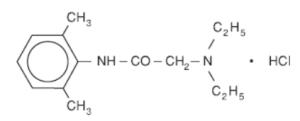 формула лидокаина