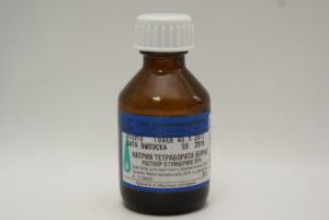 Тетраборат натрия в глицерине