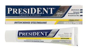 PRESIDENT White-plus