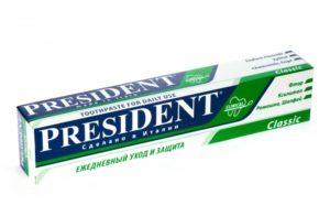 зубная паста президент