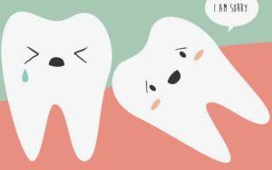 зуб лезет