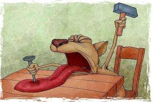механическая травма языка