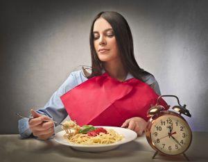мысли во время еды