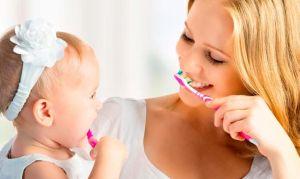 чистить зубы ребенку