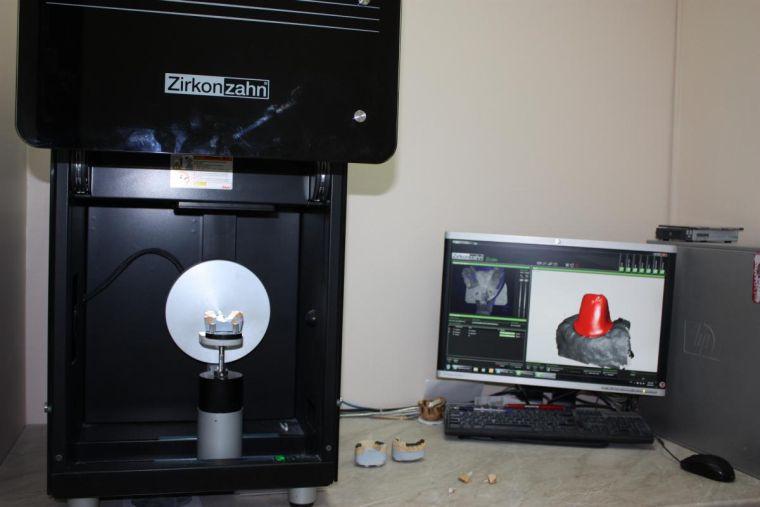 Разработка коронок на компьютере
