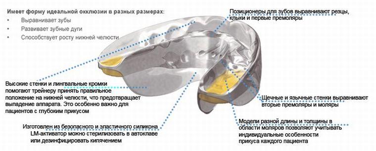 Устройство трейнера для зуб