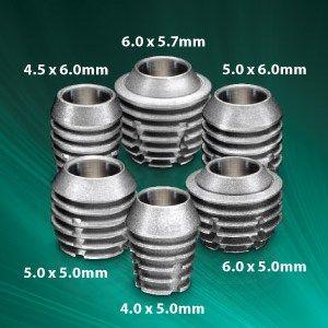 размеры имплантов