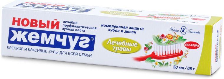 Зубная паста Лечебные травы