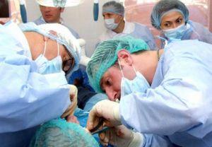 операция на ротовой полости