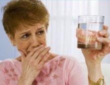протез в стакане