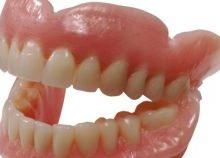 пластмассовые зубы съемные