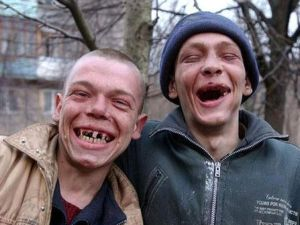 Наркоманские зубы