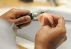Шлифовка зубного протеза