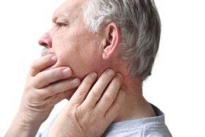 Боль отдает в ухо