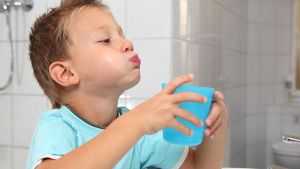 Полоскание полости рта после выпадения зуба