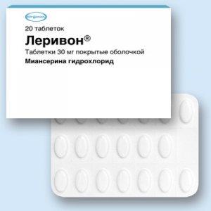 таблетки Леворин