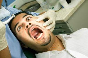 У стоматолога в кабинете
