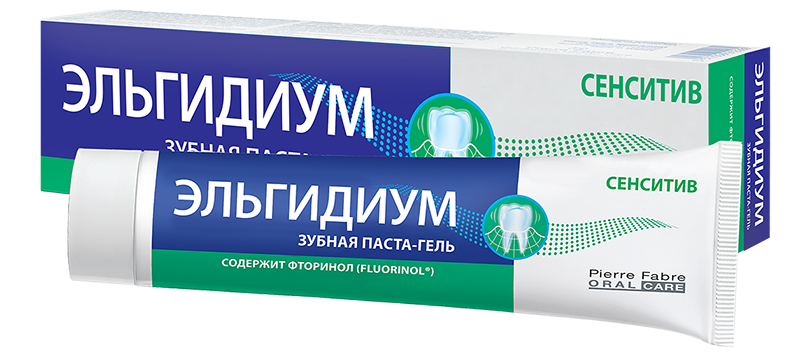 Зубная паста Эльгидиум