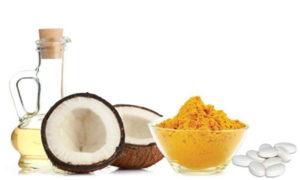 Кокосовое масло и куркума
