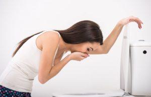 Тошнота и рвота, как побочные эффекты передозировки
