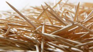 Деревянные зубочистки