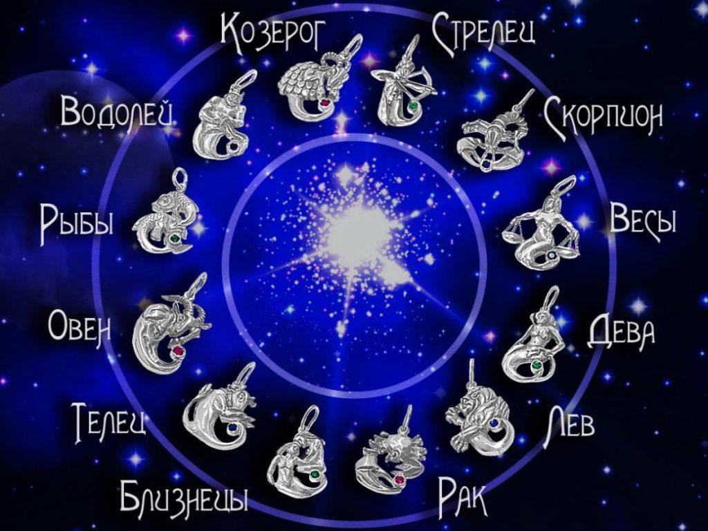 Зодиакальные знаки