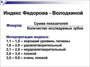 Индекс Федорова-Володкиной