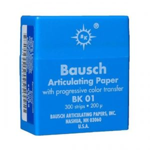 Артикуляционная копирка Bausch