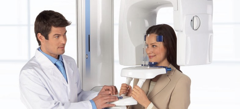 Съемка при томографии челюсти