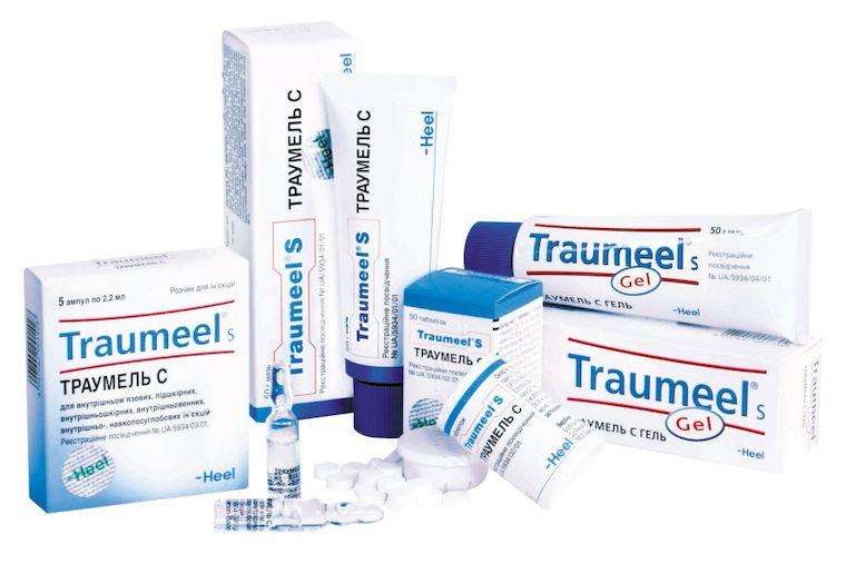 лекарственные формы Траумель С