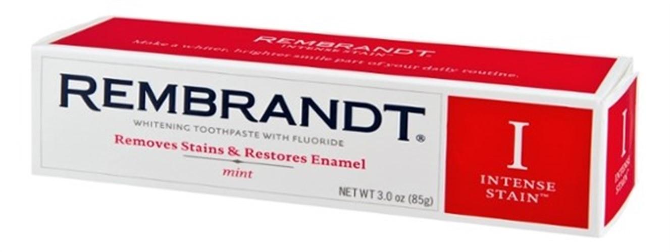 Rembrandt Toothpaste, Intense Stain, Mint Flavor