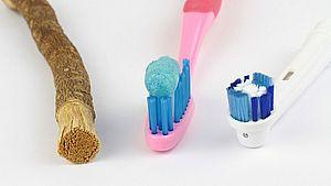 история зубной щетки
