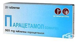 Парацетамол от зубной боли