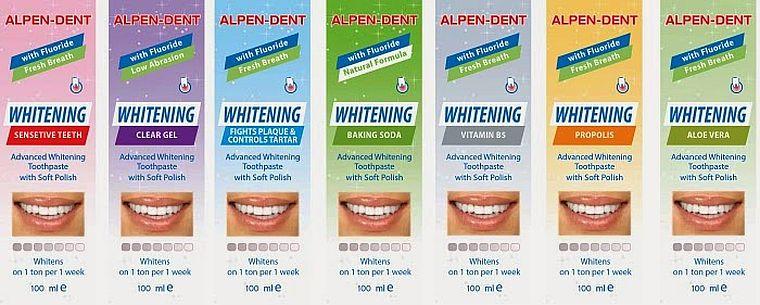 зубная паста Alpen Dent