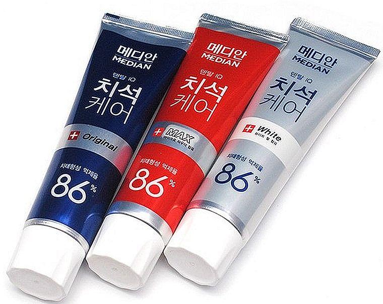 Median зубная паста из Кореи