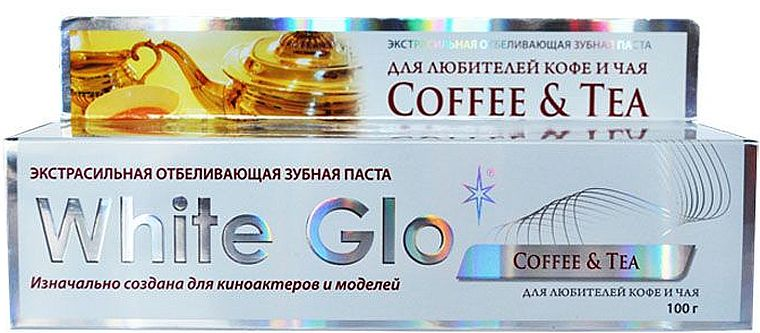 White Glo для любителей кофе и чая