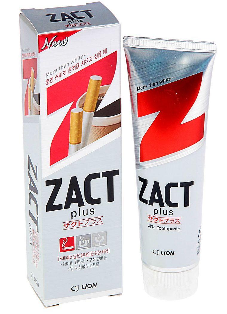 зубная паста Zact-Plus