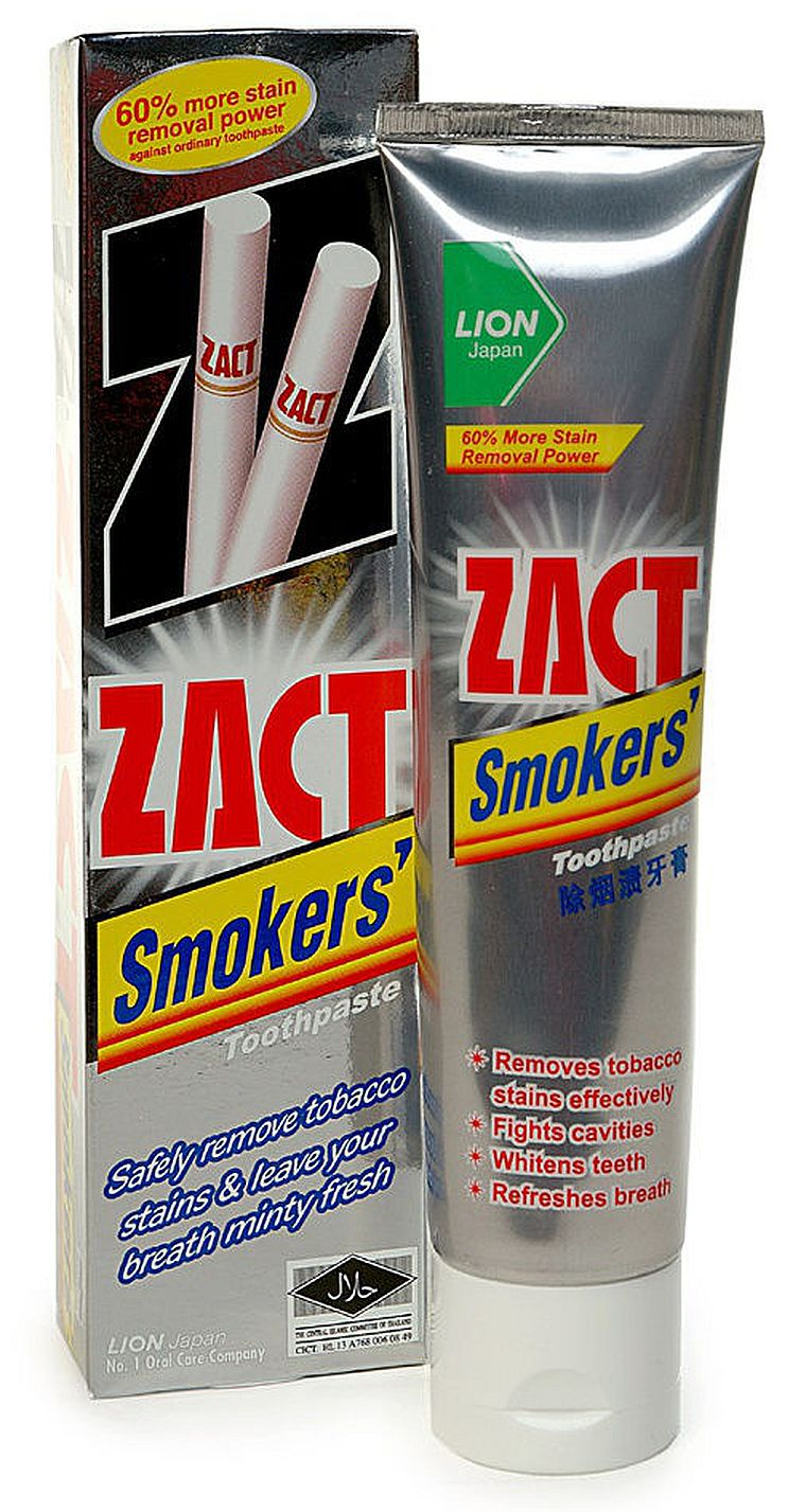 зубная паста Zact Smokers Toothpaste