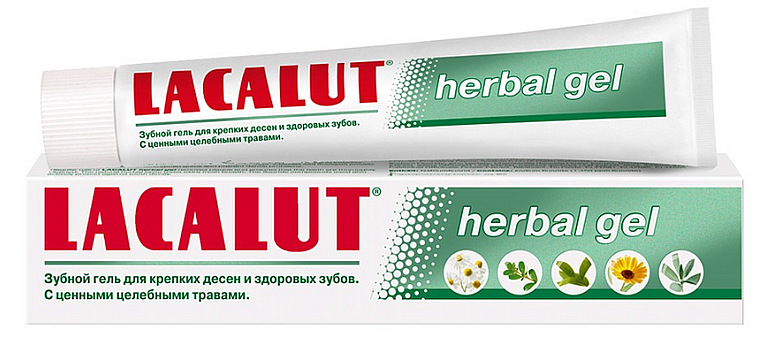 Lacalut herbal gel