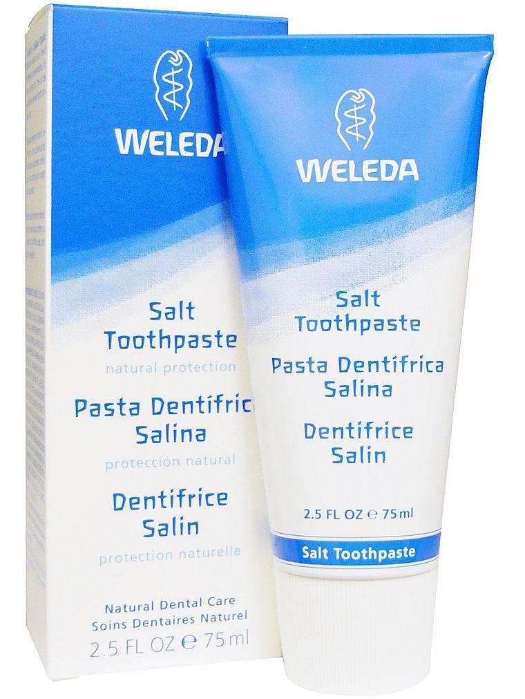 зубная паста Weleda Salt Toothpaste