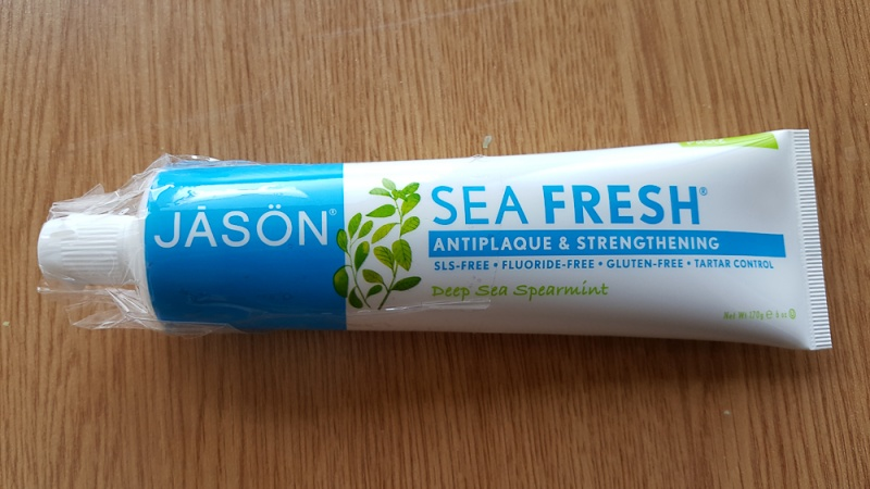 зубная паста Jason Natural Sea Fresh